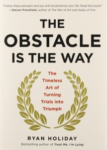 November's Book of the Month: The Obstacle is the Way by Ryan Holiday